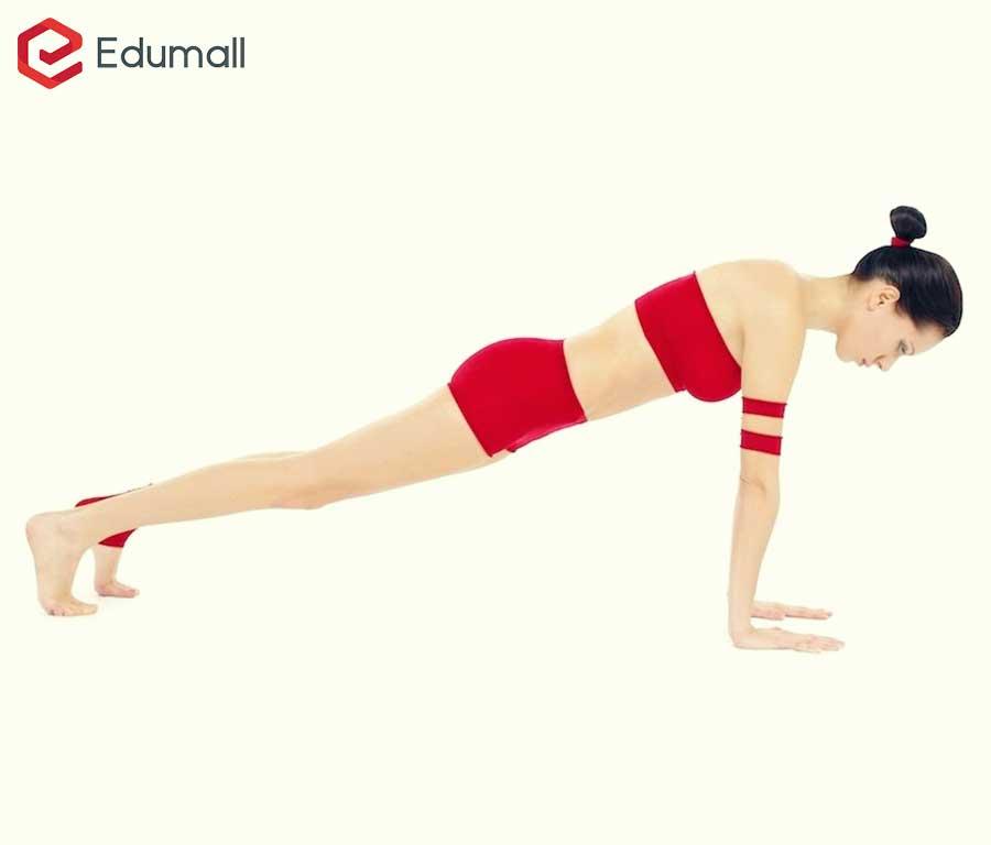 yoga chống đẩy cao