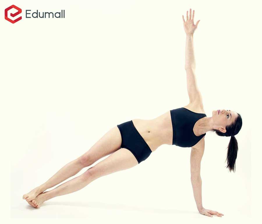 yoga tư thế ván ngang