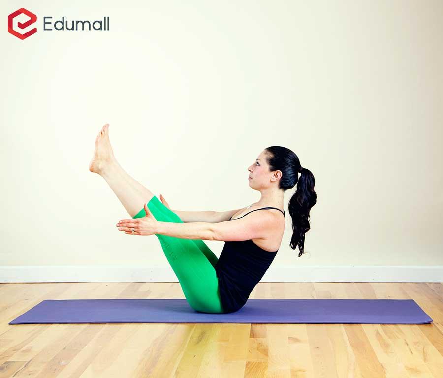 yoga tư thế con thuyền